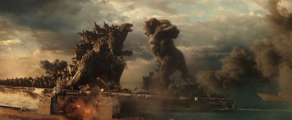 Watch The Explosive Godzilla Vs Kong Trailer Em 2021 King Kong Vs Godzilla Godzilla King Kong