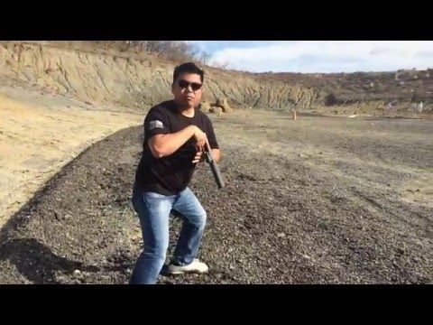 Larry Vickers Tactical Grey Glock 19 - YouTube