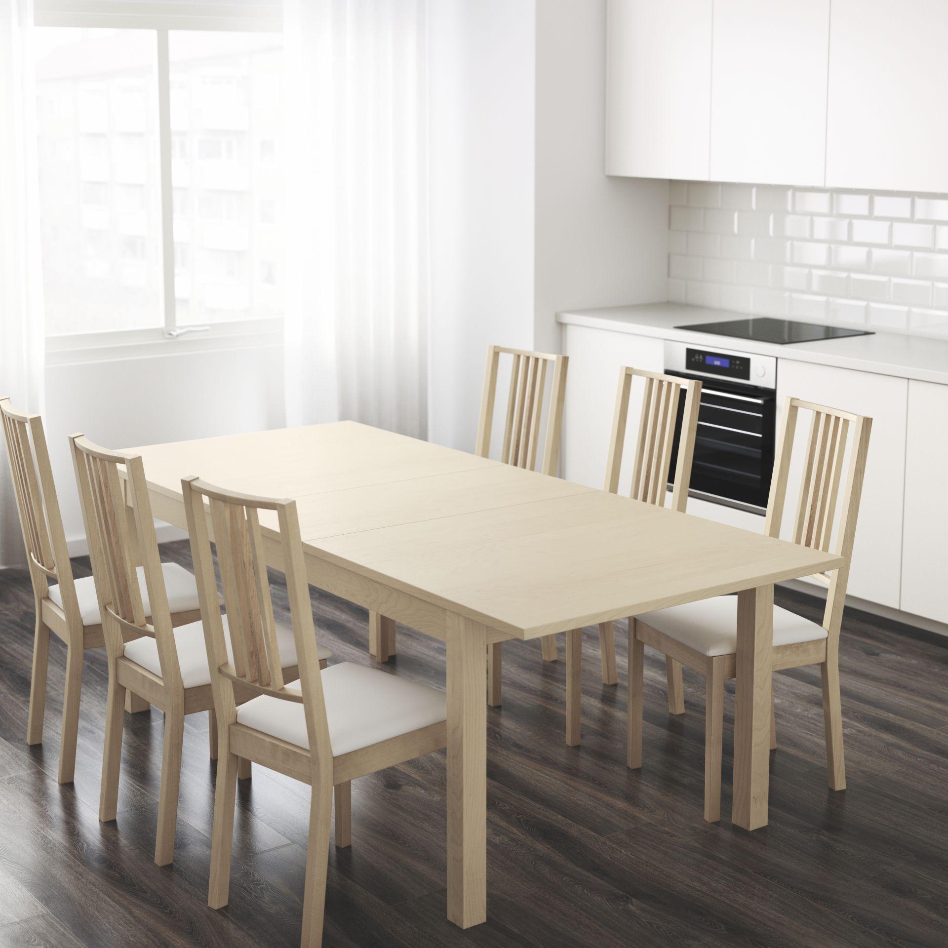 Ikea Bjursta Tafel Uitschuifbaar.Nederland Allon Designdroom Tafel Ikea Eettafel En