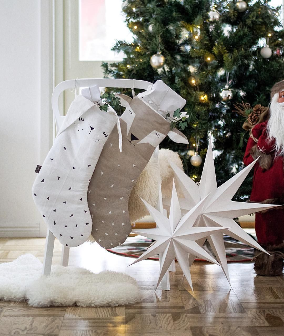 The Kids Christmas Stockings Soooo Cute Jag Har Inte Riktigt Hunnit Med Att Fota Ihelgen Men Dessa Supersota Holiday Decor Christmas Stockings Christmas