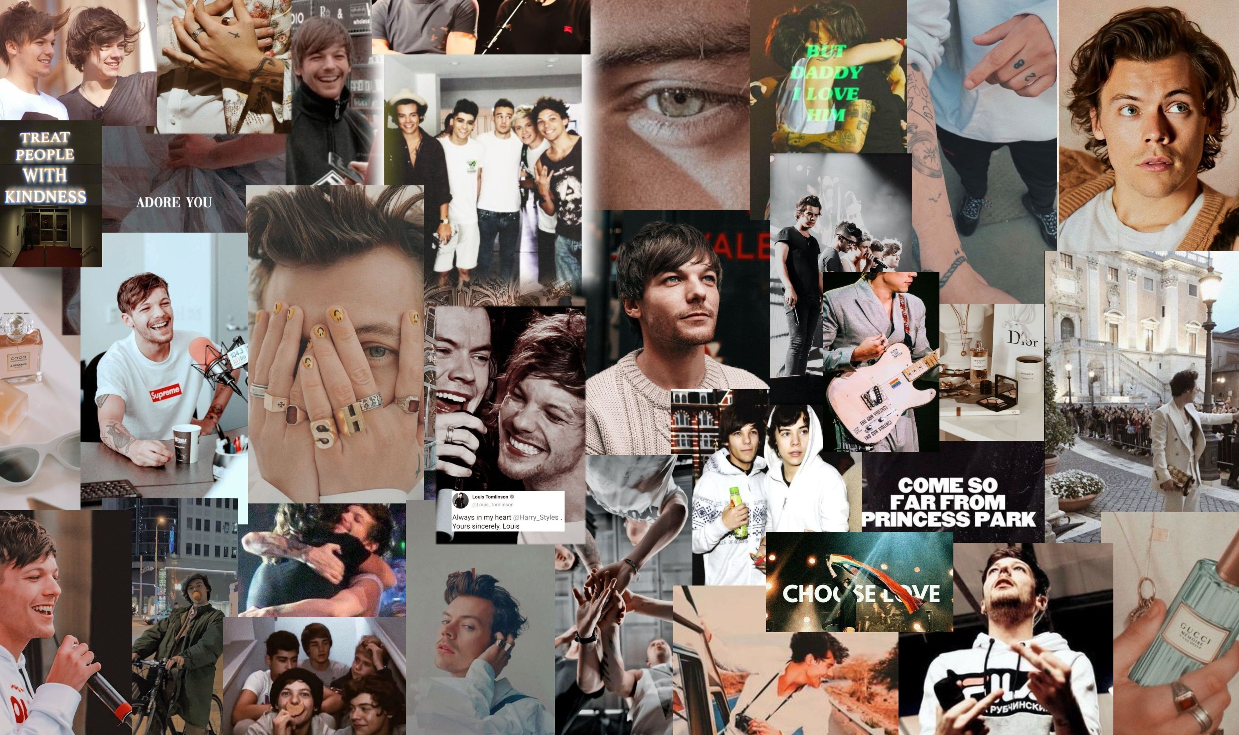 Larry Computer Background In 2020 Harry Styles Wallpaper Aesthetic Desktop Wallpaper Harry Styles