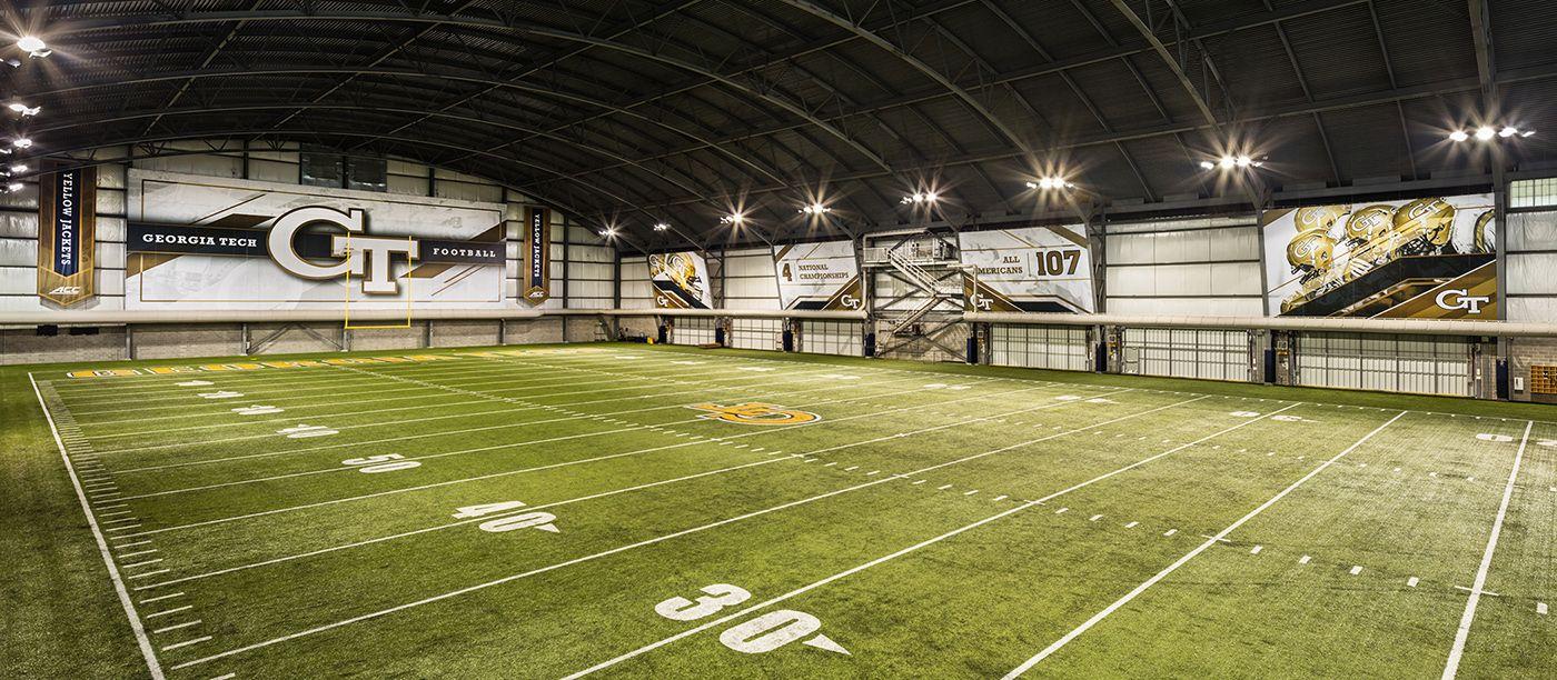 Tech Indoor Football Facility on Behance