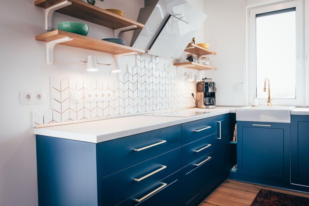 Http Www Refreszing Pl 2018 09 Granatowa Kuchnia Jak Z Pinterest Html More Home Home Etc