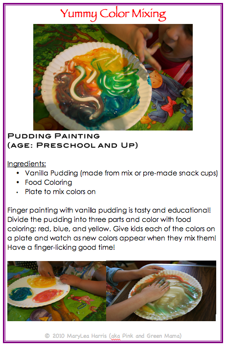 Pink and Green Mama: * Pink and Green Mama Crafts: Rainbow Fun Art Camp Lesson Plans EBook