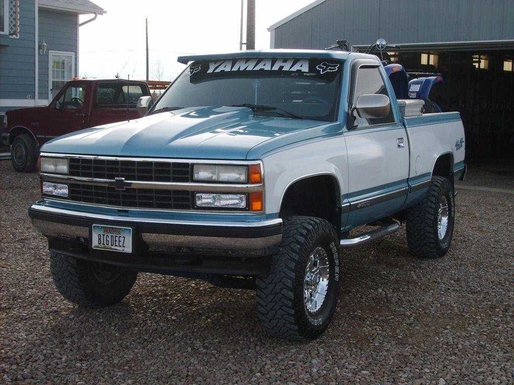 Another Bigdeez1ad90 1990 Chevrolet Silverado 1500 Regular Cab Post Photo 12174030 Lifted Trucks Trucks Lifted Chevy Trucks