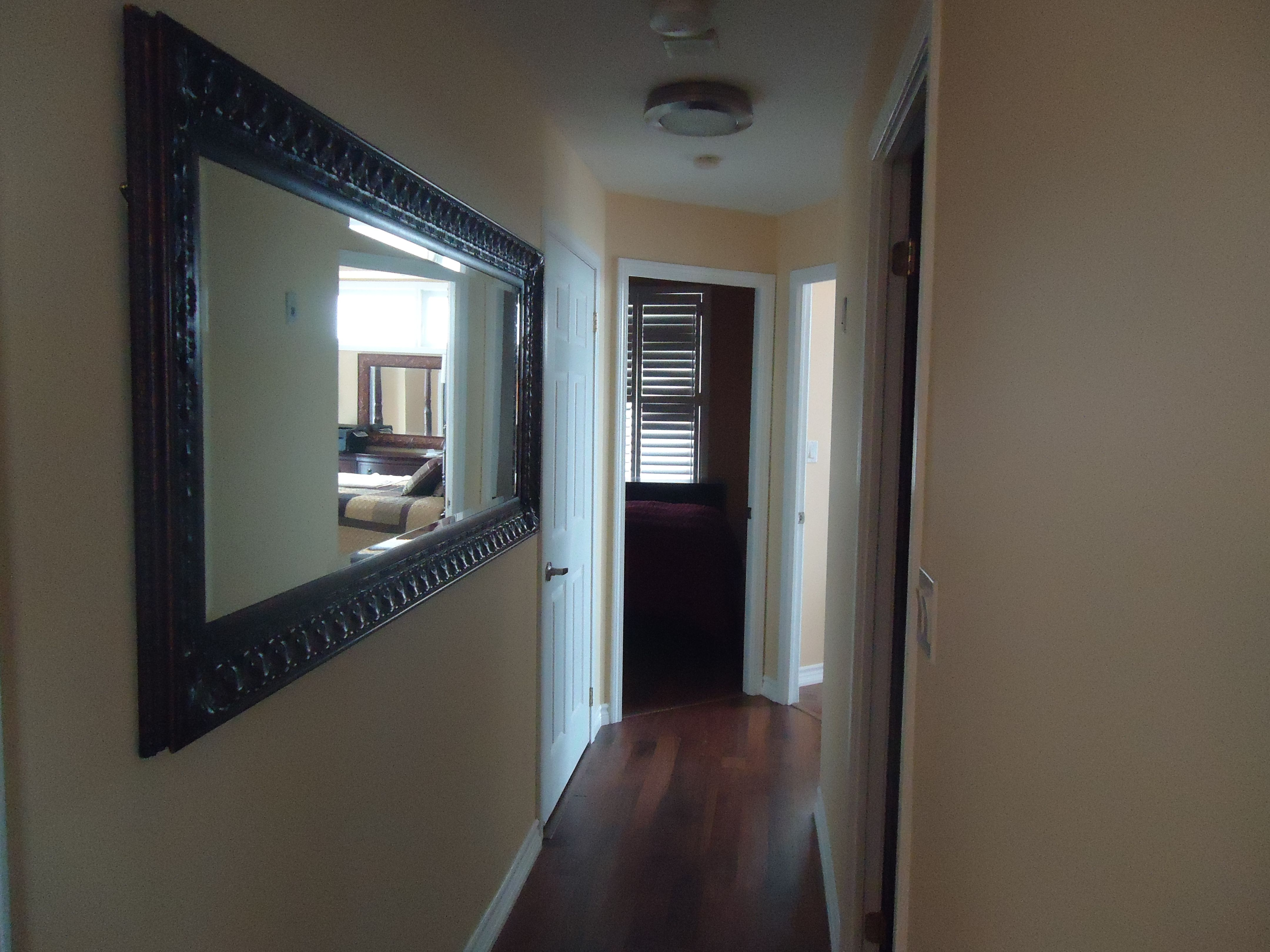 Long Mirror Down Hall For The Home Pinterest Long