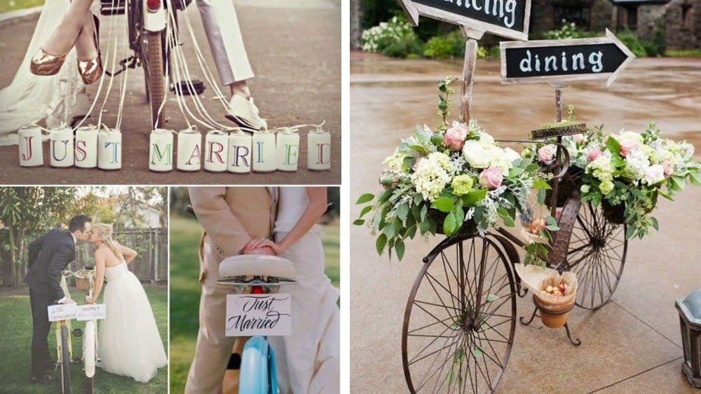 50 id es d co pour un mariage vintage velo vintage deco mariage et bicyclette. Black Bedroom Furniture Sets. Home Design Ideas