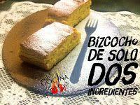 La Cocina Del Sur: BIZCOCHO RÁPIDO CON SÓLO 2 INGREDIENTES