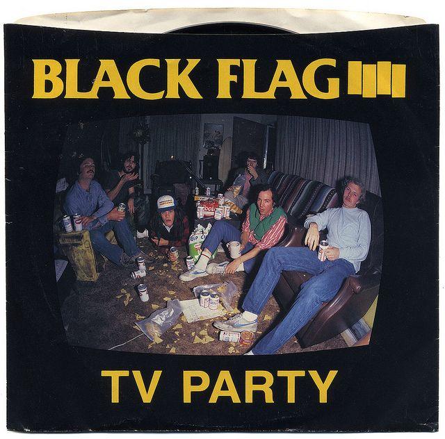 Tv Party Black Flag Black Flag Album Covers Album Cover Art