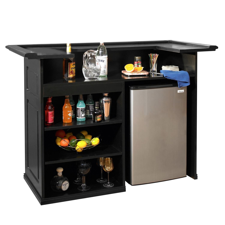 58 Inch Black Bar Home Bar Furniture Bars For Home Bar Furniture