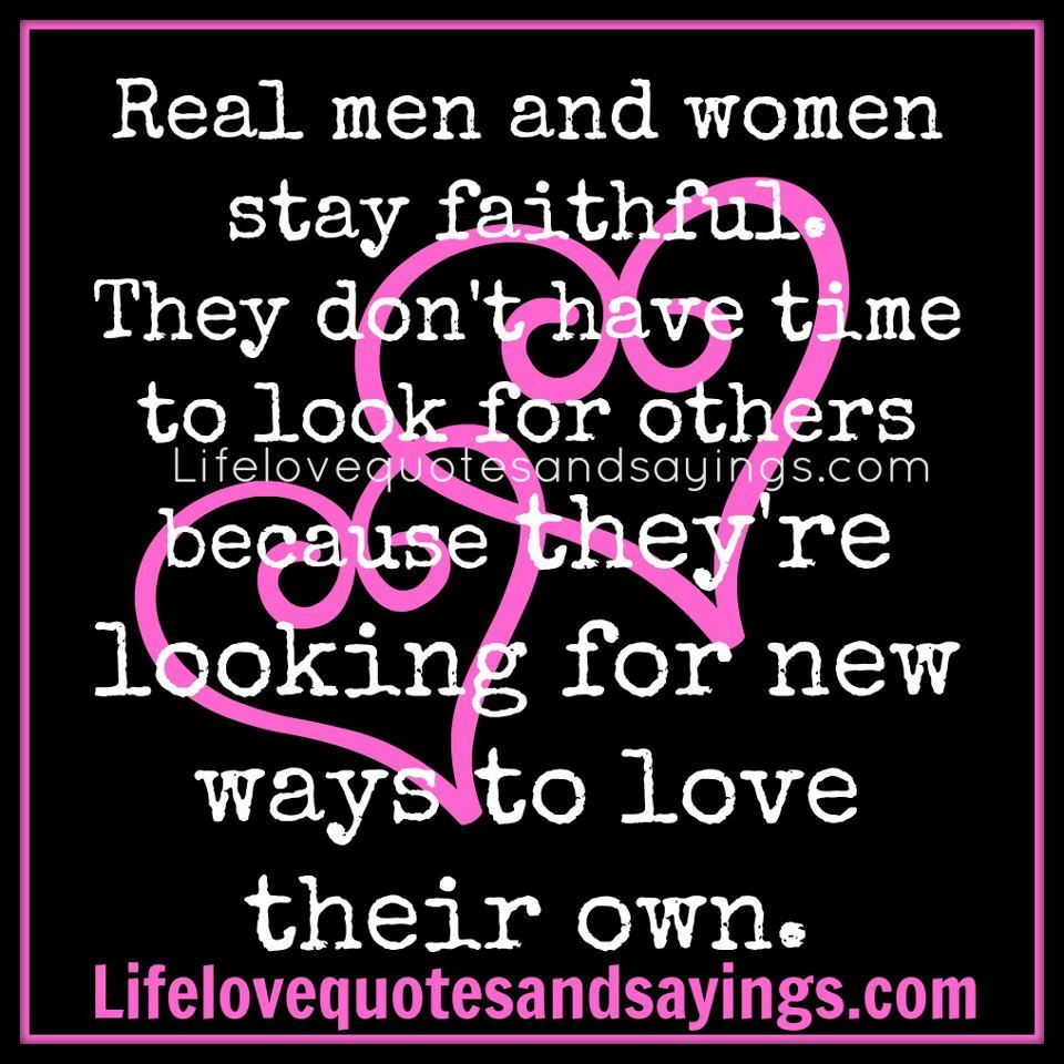 Looking for a real man
