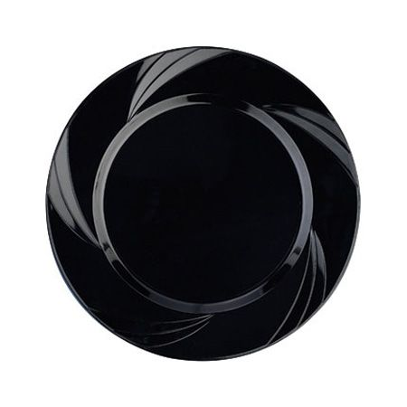 6.5\  Newbury Black Plastic Cake Plates  sc 1 st  Pinterest & 6.5\