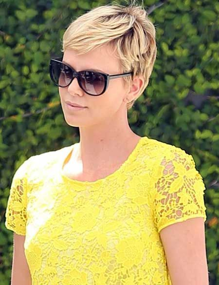 Awesome 1000 Images About Charlize Theron On Pinterest Short Hairstyles For Black Women Fulllsitofus