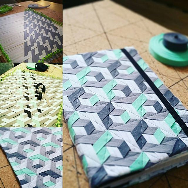 Fabric Weaving Notizbuchhülle   Instagram marinakramlinger   Weaving ...