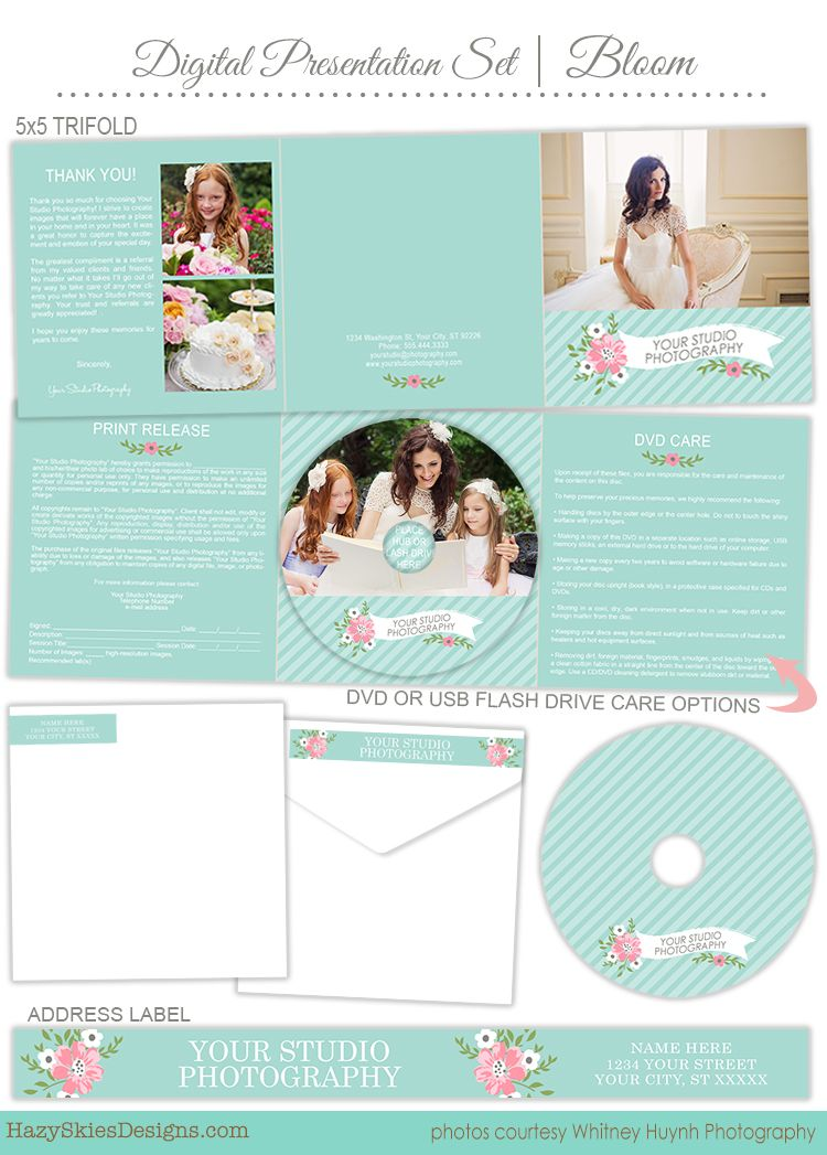Digital Presentation Set for Photographers #cd label #dvd label - cd label