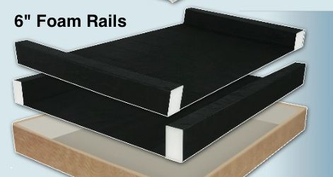 Airpro Replacement Foam Support Rails Compatible With Sleep Number Bed Parts We Do Not Sell Sleep Number Brand Parts Sleep Number Bed Bed Parts Air Bed