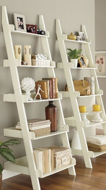 Ladder shelf projects for myself pinterest repisas for Repisa escalera