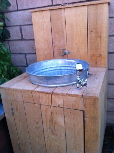 Me My Boys Garden Sink Garden Sink Sink Outdoor Sinks