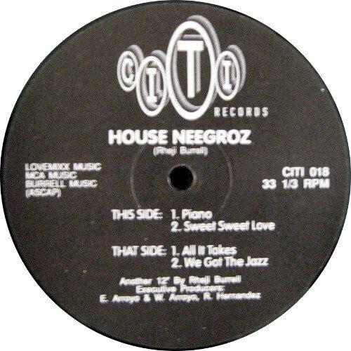 House Neegroz - Piano