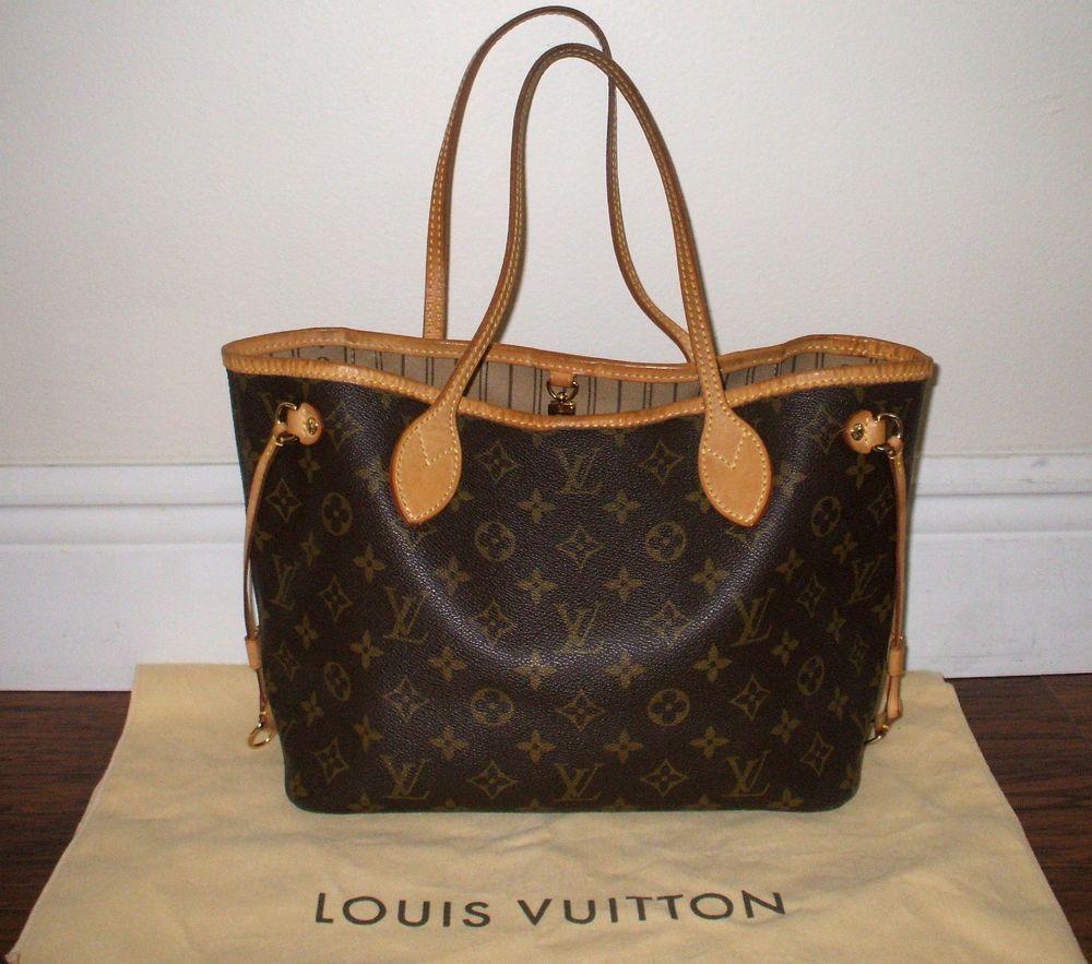 LOUIS VUITTON Monogram Neverfull PM | Designer Women Bags ...