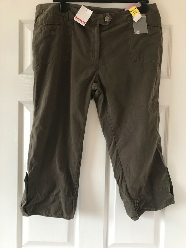 c9e6008535 New Matalan Crop Trousers Size 16 bnwt #fashion #clothing #shoes  #accessories #