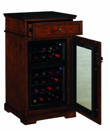 Madison Thermoelectric Wine Coolers In, Wine Cooler Cabinet Furniture