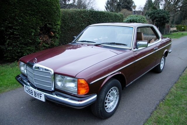 1985 mercedes benz 230 ce pillarless coupe the material for Fields mercedes benz lakeland