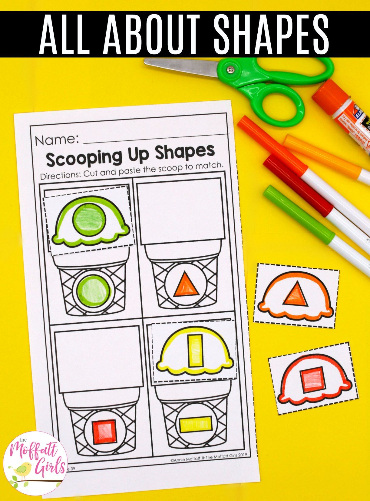 Preschool Math Shapes