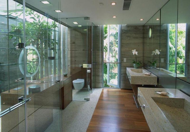 Holzboden im Badezimmer - Wohlfühlambiente mit Natur-Charakter ...