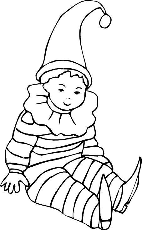 Coloriage arlequin colorier dessin imprimer dessins f e clochette dessin f e clochette - Fee clochette a colorier ...