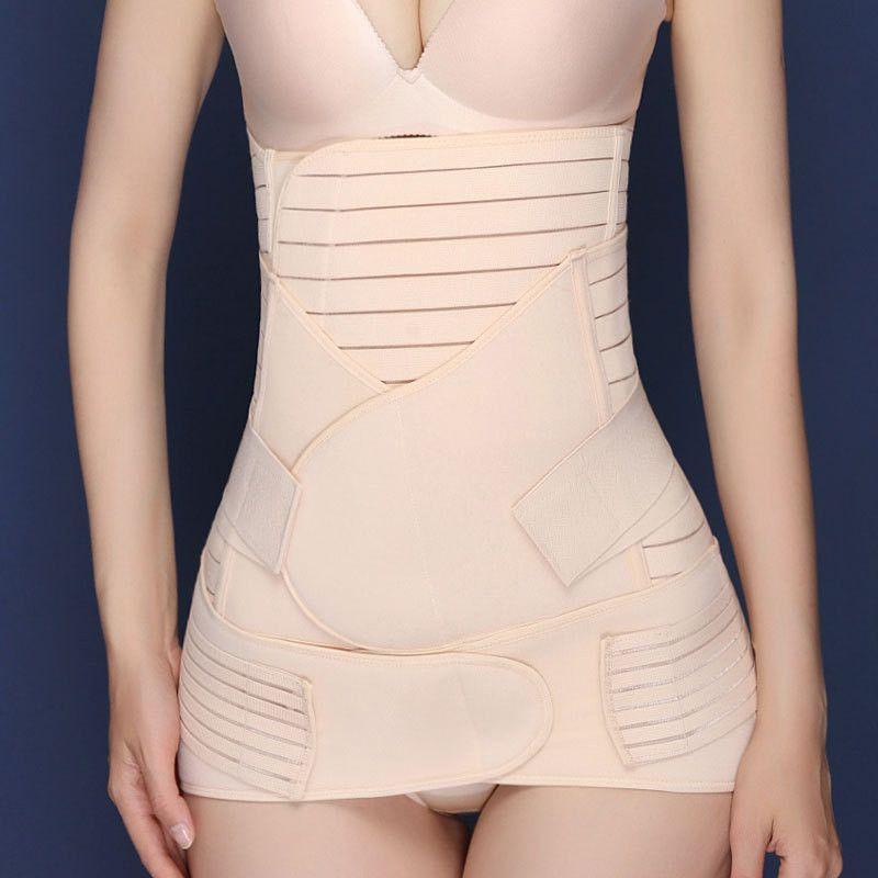 Details about  /Slimming Corset Waist Trainer Body Shaper Women Postpartum  Band Underbust Tummy