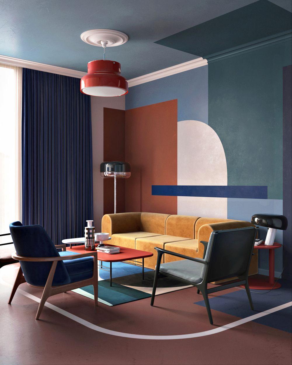 Interiors also rumah interior design modern rh pinterest