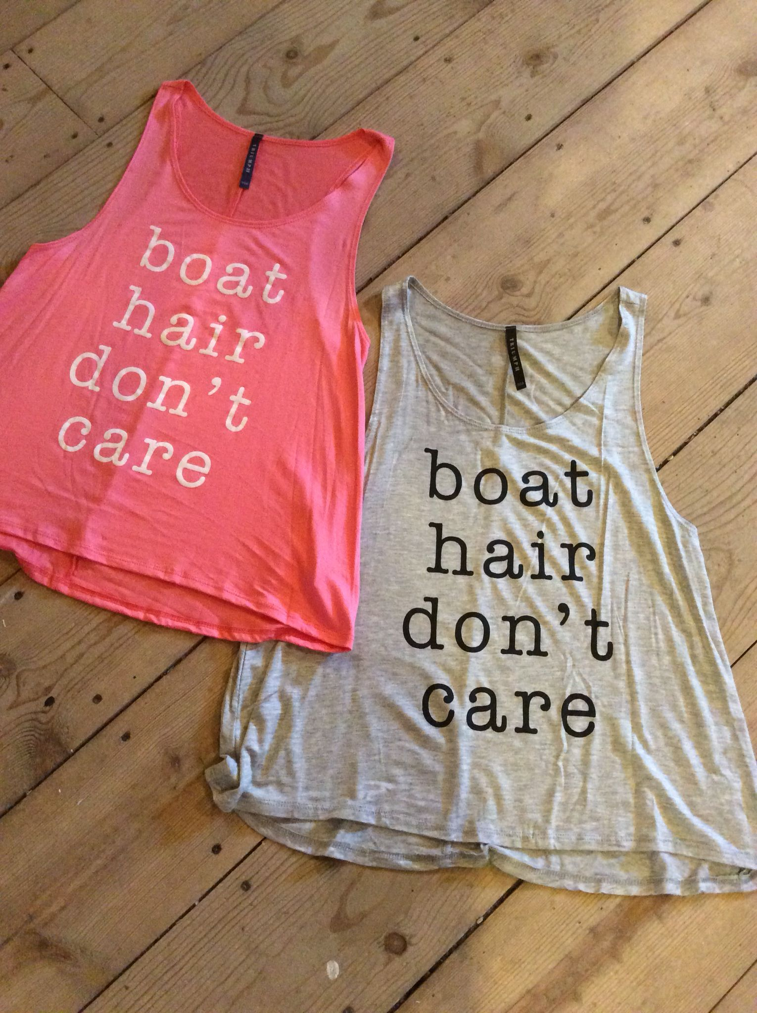 Love these loose fitting tanks.