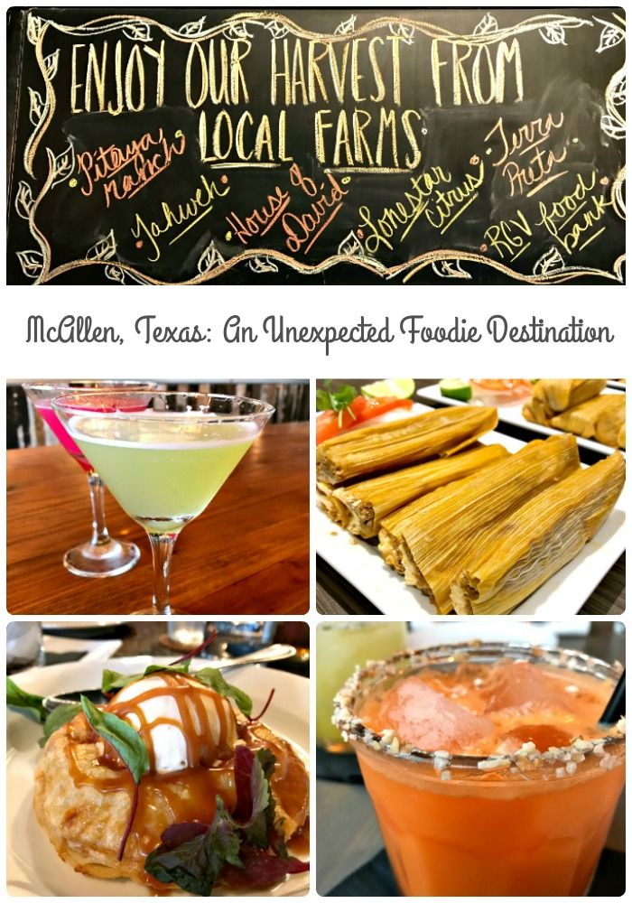 McAllen, Texas has become an unexpected culinary incubator in southern Texas- melding traditional Tex Mex & Mexican cuisine with a Texan twist on the farm to table dining experience. #hosted #VisitMcAllen
