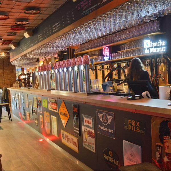 Delirium Cafe Toulouse Bar A Biere Bar Comptoir De Bar