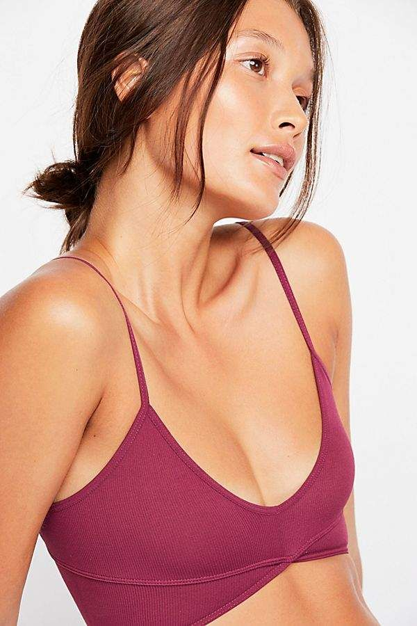 b90c63bc1844 Barely There Intimately Seamless Longline Bra Long A Line