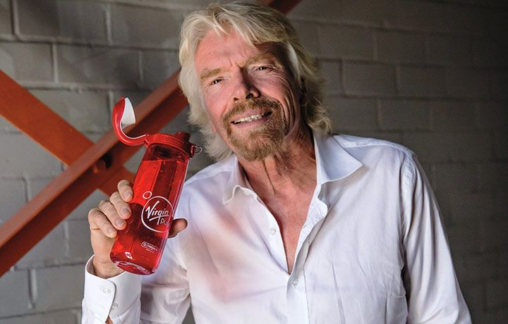 I found this post very interesting and Richard Branson's  approach to corporate social responsibility - launching Virgin Pure water bottle