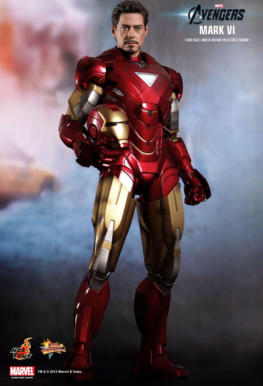 Hot toys the avengers mark vi movie promo edition 1