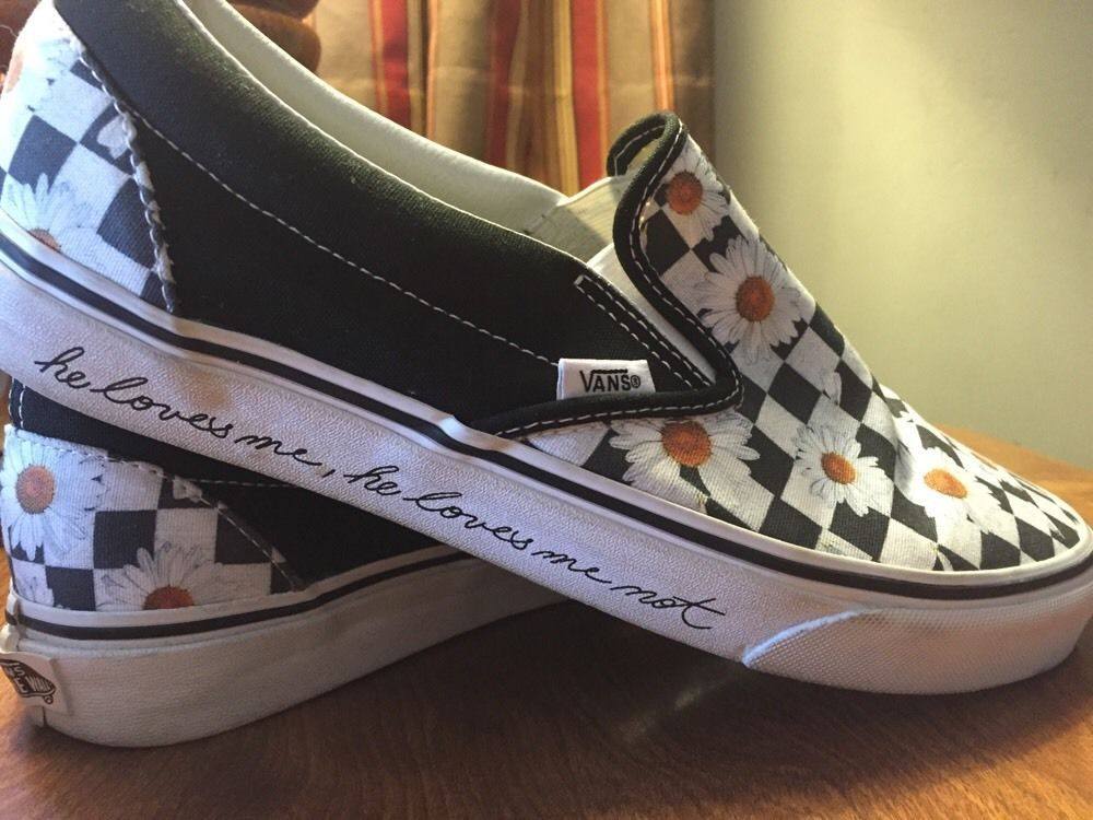 Slip On Skate Shoes Mens 8.5 Womens