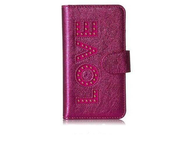 0580cb8ef4 Michael Kors Ultra Pink LOVE Folio Phone Case iPhone 7/8 #afflink ...