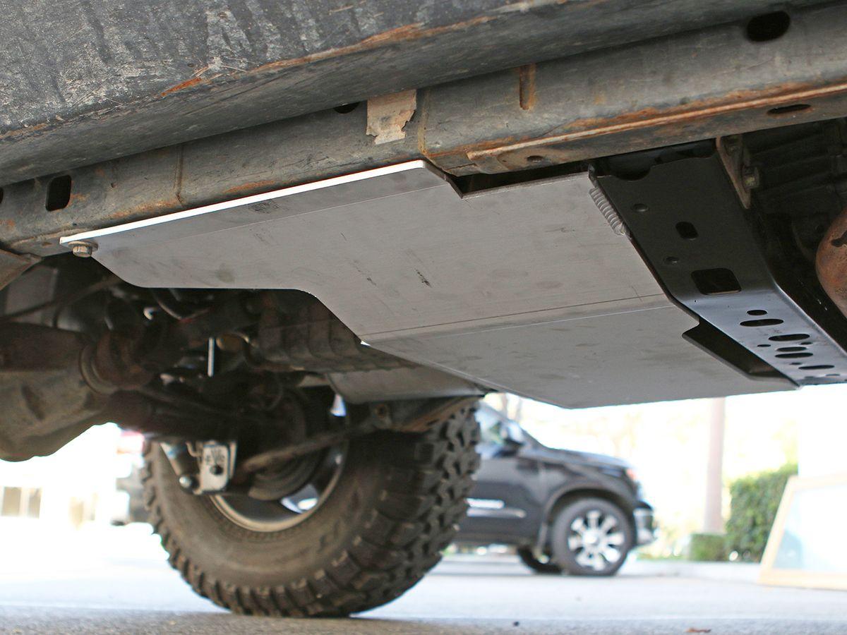 Genright jk transfer case skid 1 4 aluminum