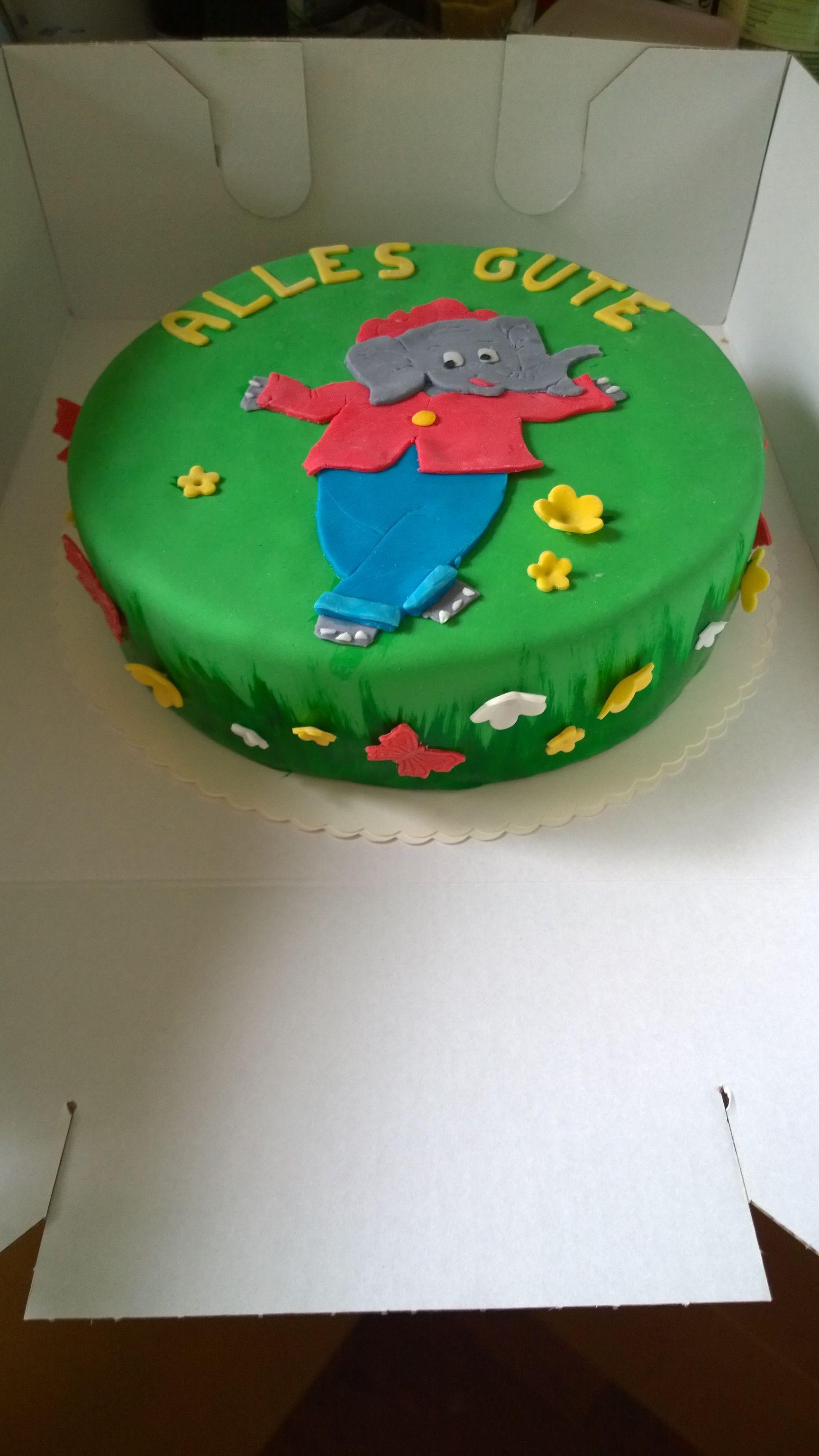Benjamin Blumchen Torte Geburtstagstorte Birthday Cake Benjamin