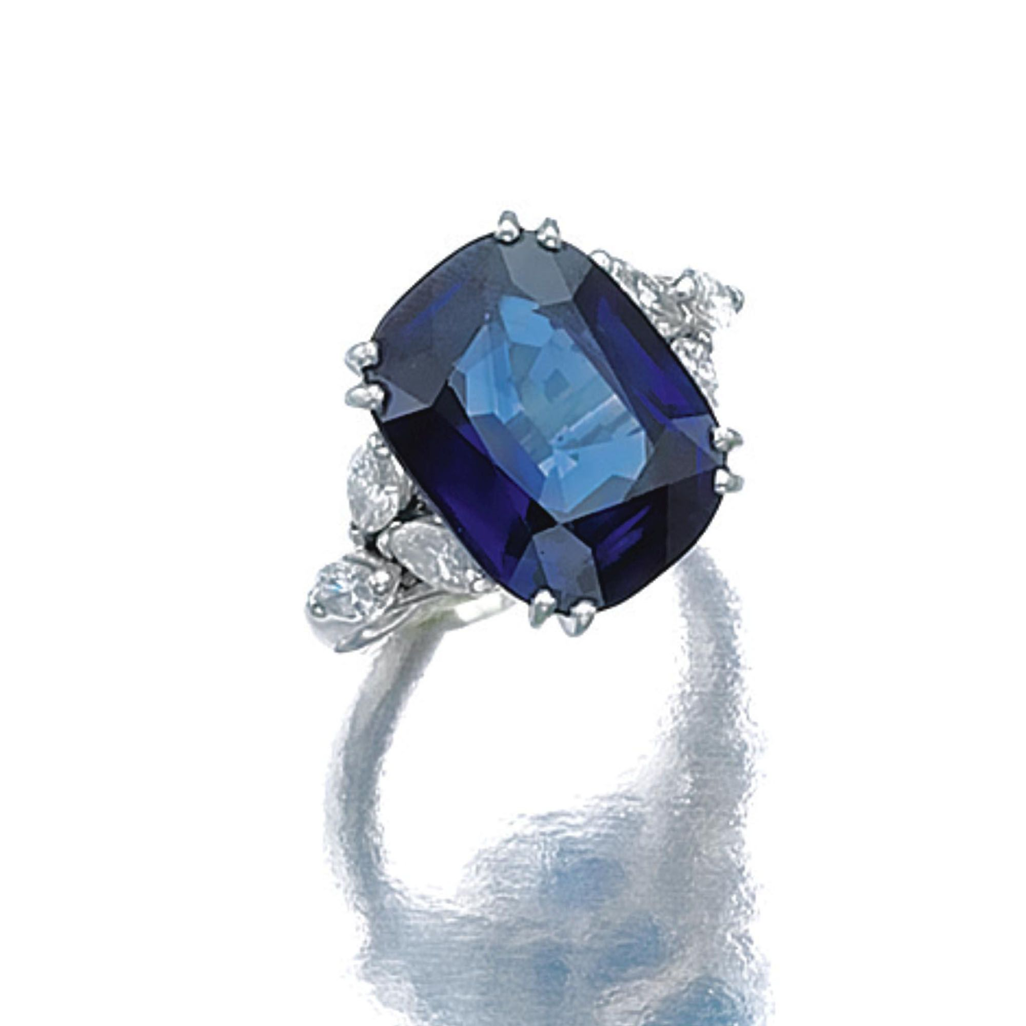 Sapphire and diamond ring | lot | Sotheby's