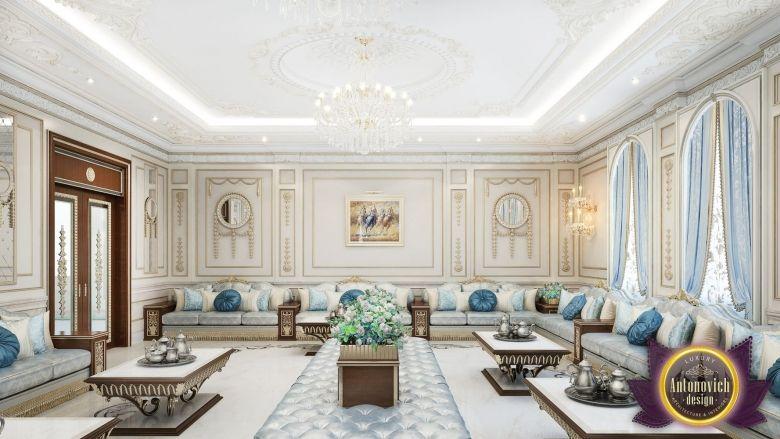 Majlis Interior Design in Dubai, Royal Arabic Majlis Luxury Design, Photo 2