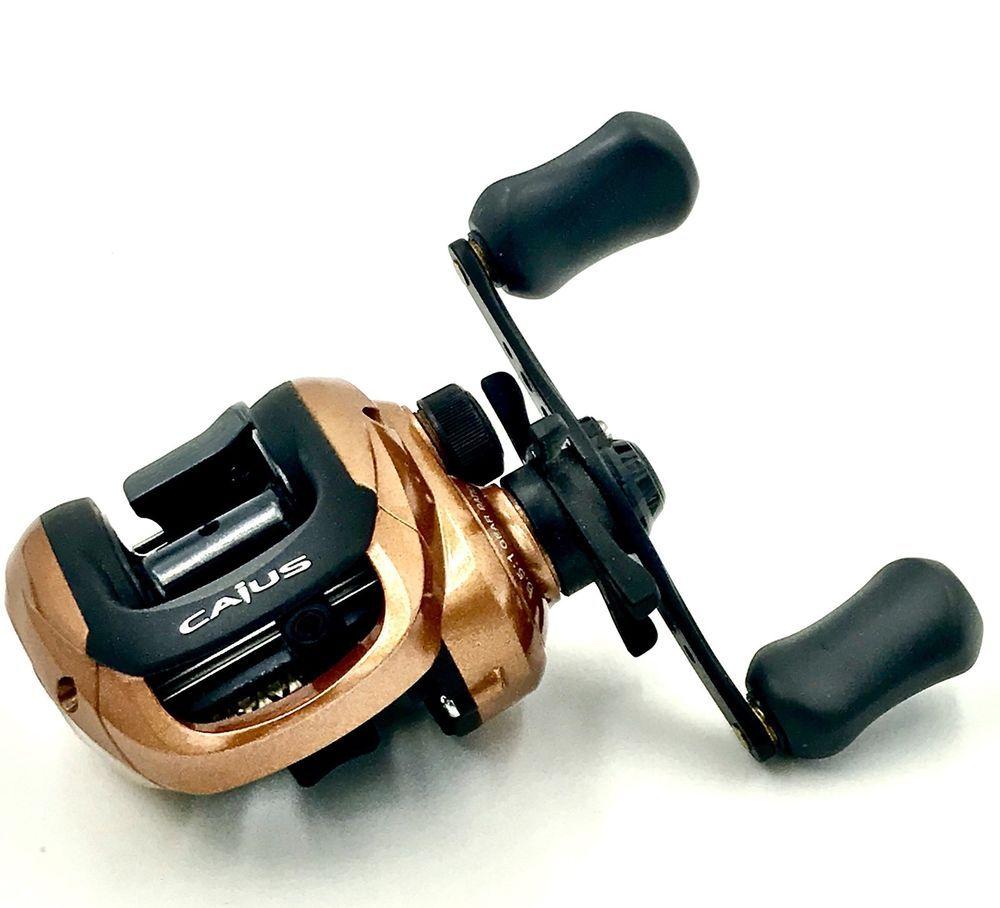 a5a3b670b17 Shimano Caius 201 Bait Casting Reel Low Profile Multiplier Fishing New  Predator