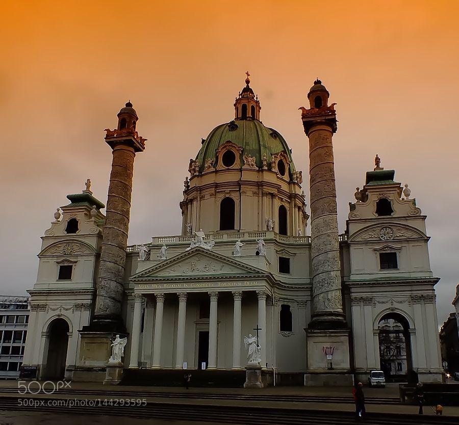 Karlskirche Vienna by ardaerlik
