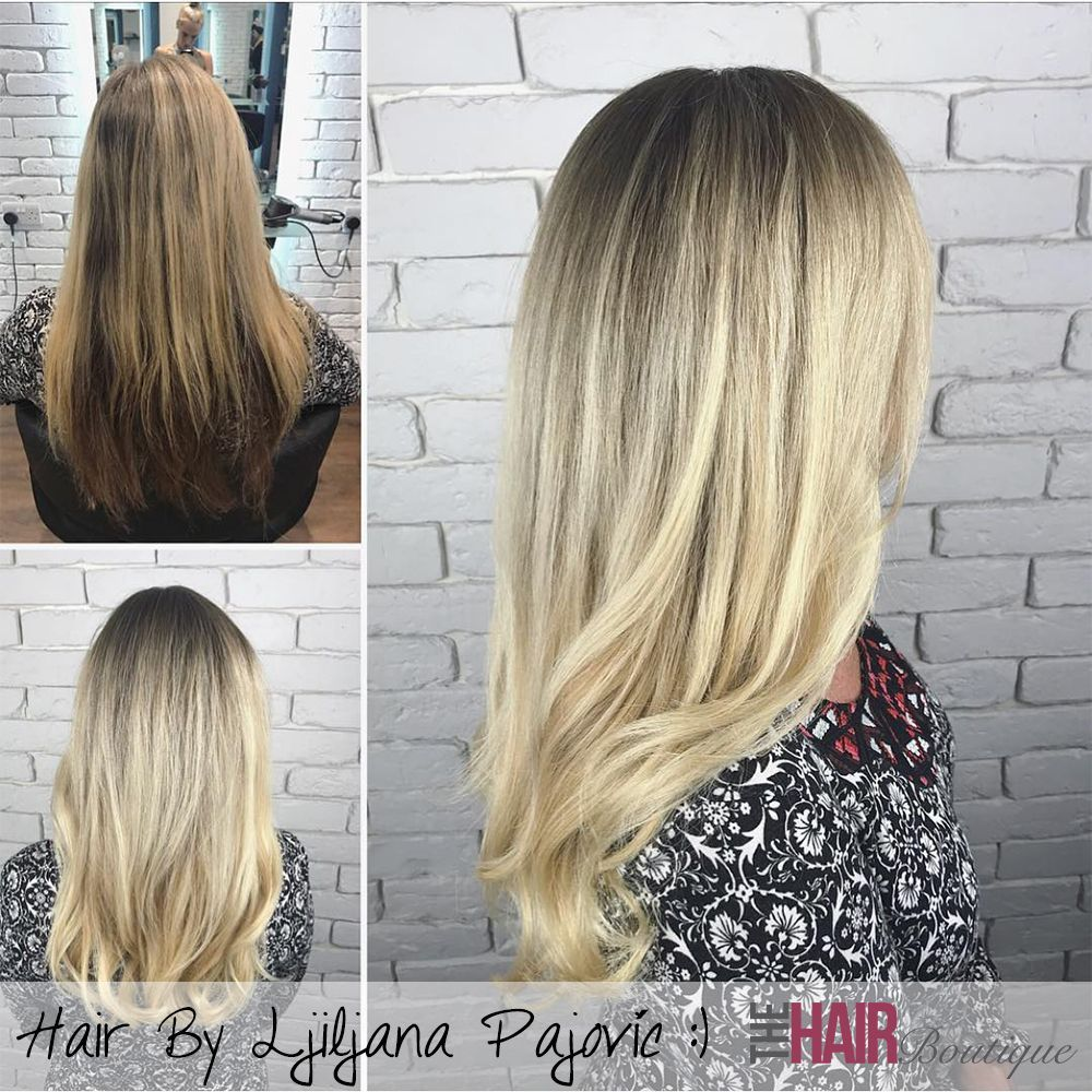 Blonde hair don't care! A lovely ash blonde colour melt by