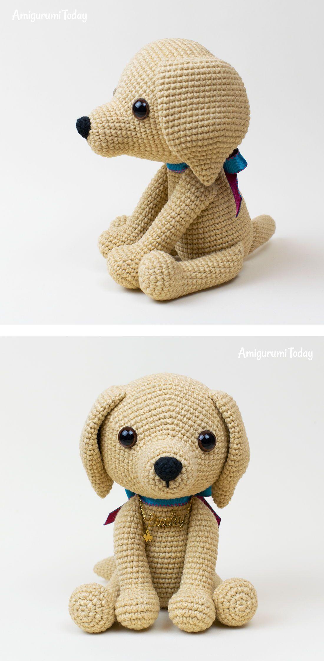 Lucky puppy amigurumi pattern   Cre8tion Crochet Community Board ...