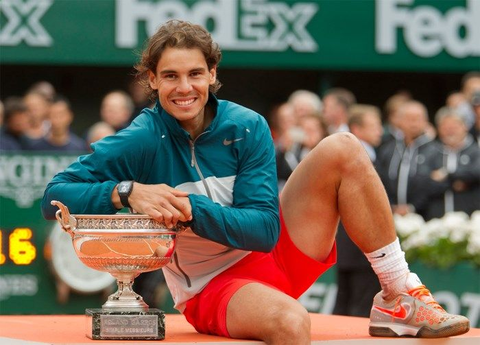Top10 Interesting Facts About Rafael Nadal He Is Only 28 Years Old And Is Still In With A Chance Of Winning The Reco Rafael Nadal Nadal Tennis Tennis Players
