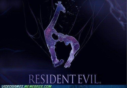 resident evil 6 meme giraffe